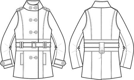 fashion item: lady jacket