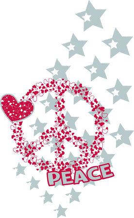 Ejemplo de amor y de paz Foto de archivo - 4759625