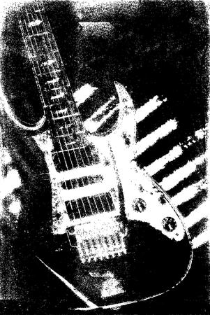 guitarristas: m�sica NSTRUMENTO textura Vectores