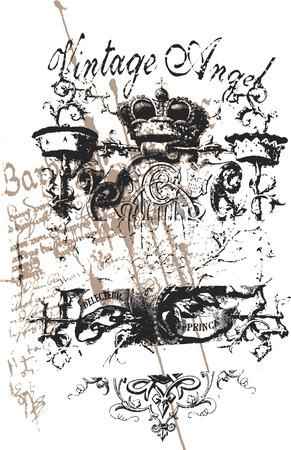 Cross heraldic crown