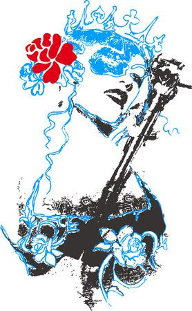 여자 포스터