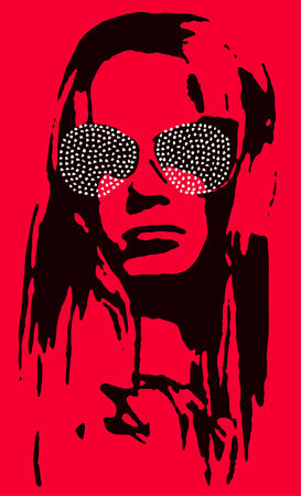 celebrities: vrouw poster