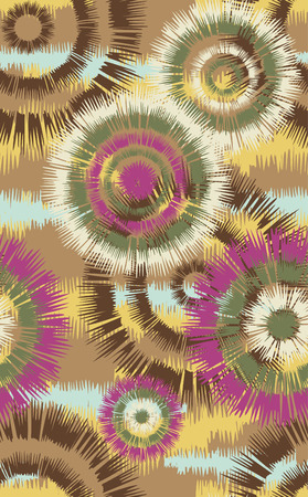 japanese pattern illustration: seamless flower pattern Illustration