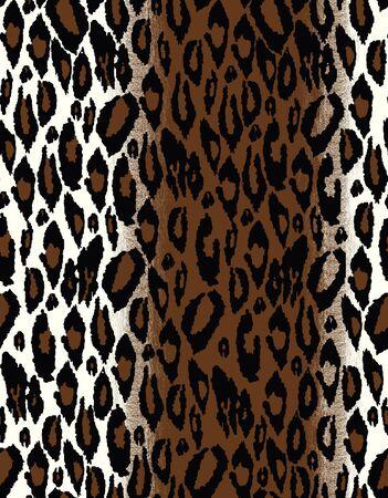 Seamless tiling animal print patterns photo