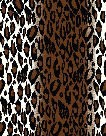 tiling: Seamless tiling animal print patterns Stock Photo