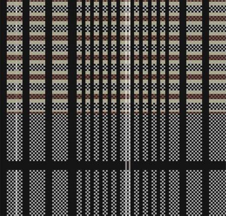 check fabric pattern Stock Photo - 5124869