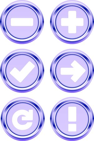 web 3D button icon symbol photo