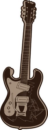 music guitar Vector