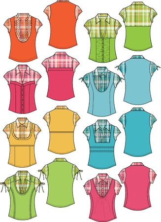 porfessional: lady fashion blouse