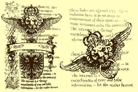 classic heraldic element Stock Vector - 5294264