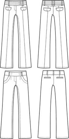 long pants: lady fashion formal pants