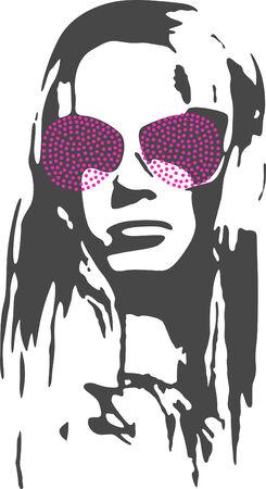Fancy Woman Illustration Stock Vector - 5352016