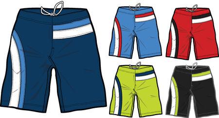 shorts: hombres Ba�adores