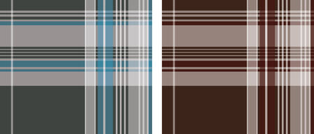check pattern in two style Vector