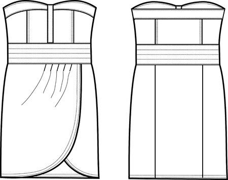 porfessional: lady formal dress
