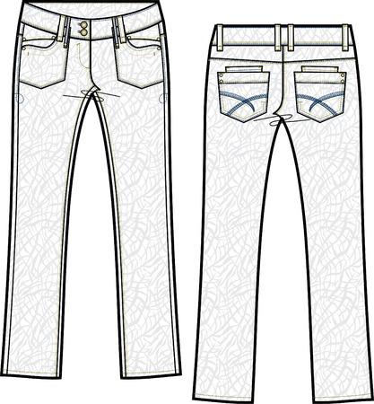 "denim jeans: Flaca ""jeans de mezclilla, con efecto a crinkle"