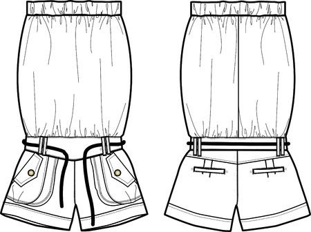 ladies fashion jumper Stock Vector - 5411580