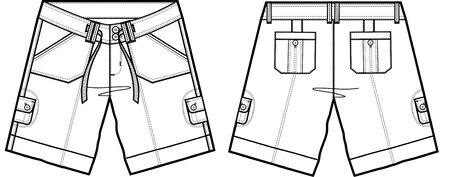cargo pants: lady fashion shorts