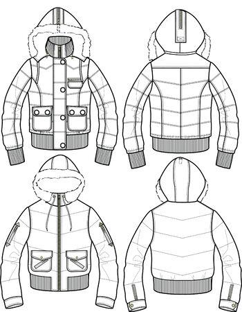 bomber: lady padded bomber jacket