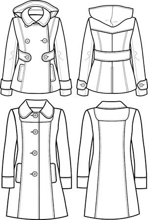 wool: lady wool jacket