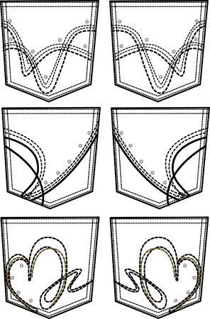 porfessional: new style back pockets