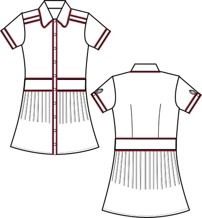 ladies' blouses Stock Vector - 5608101
