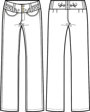 lady columbian jeans