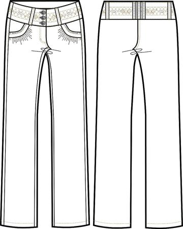 columbian: lady columbian jeans