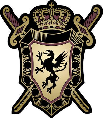 escudo militar: el dise�o del escudo militar