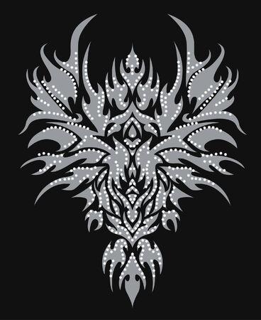 luxury tribal design with stone  Stock Vector - 5638866