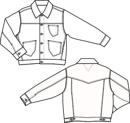 casual: boy denim jacket
