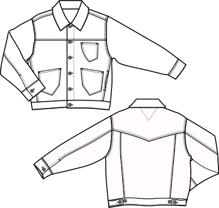 casual wear: boy denim jacket