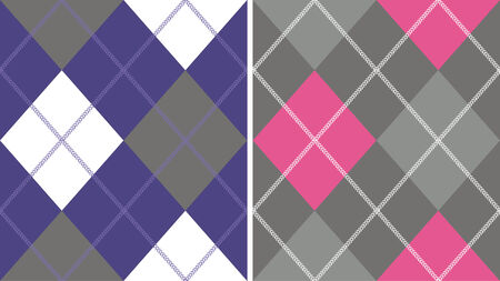 diamond check pattern Vector