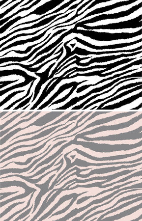 repeated: repeated seamless zebra pattern Illustration