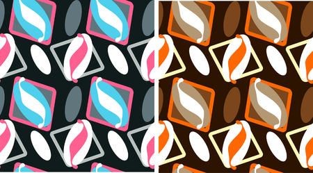 trendy old fashioned wallpaper Vector
