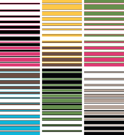 colourful stripe pattern Stock Vector - 6034803