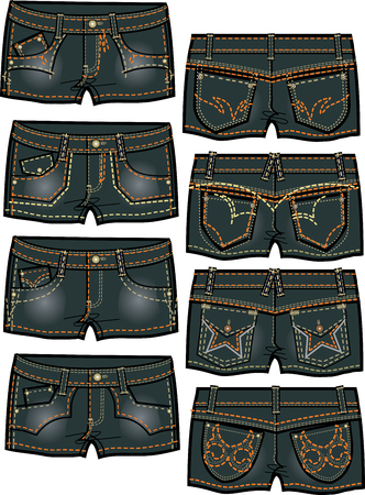 lady fashion jeans