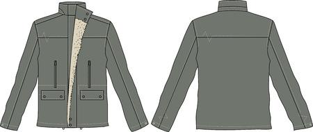 men jackets Stock Vector - 6034805