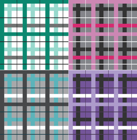 cheack seamless pattern Vector
