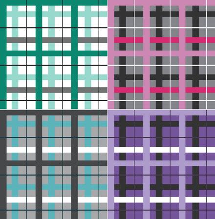 cheack seamless pattern
