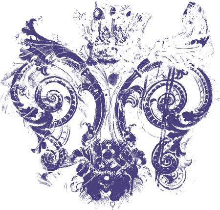 fleur de lis background texture Vector
