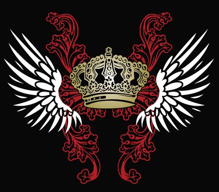 rey medieval: emblema her�ldico de �guila