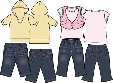 porfessional: kids fashion set