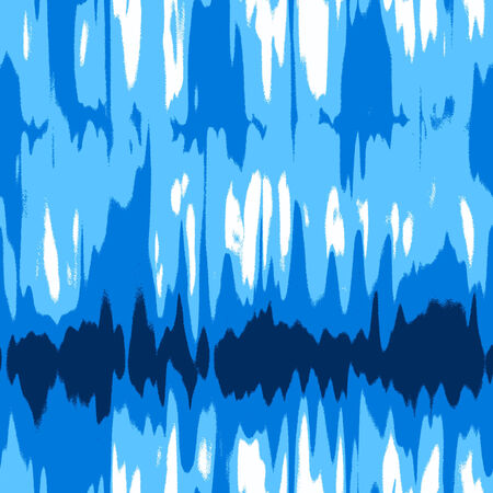 colourful tie: abstract blue background Illustration