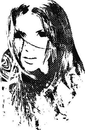 woman illustration Stock Vector - 6590247