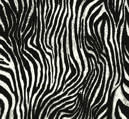 dark skin: animal print Illustration