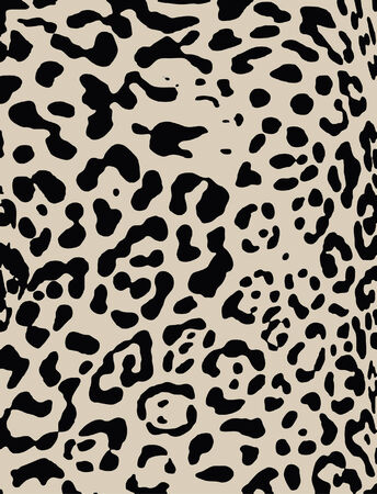 zebra skin: animal print Illustration