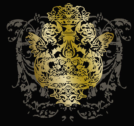 swirl shielding emblem