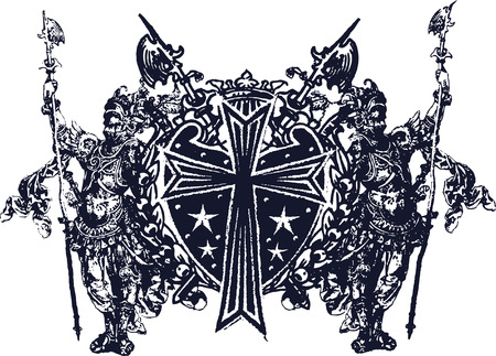 herald: medieval art design