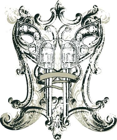 gun design Illustration